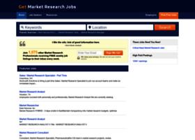 Getmarketresearchjobs.com