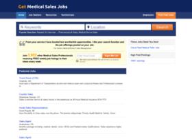 getmedicalsalesjobs.com