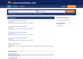 getnursepractitionerjobs.com