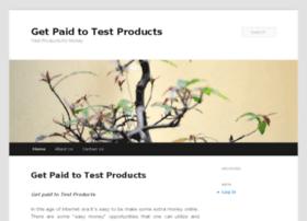 getpaidtotestproducts.net