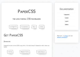 getpapercss.com