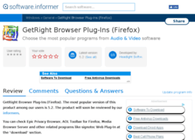 getright-browser-plug-ins-firefox.software.informer.com