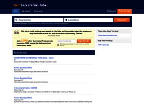 getsecretarialjobs.com
