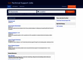 gettechnicalsupportjobs.com