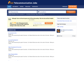 gettelecommunicationjobs.com