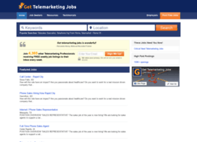 gettelemarketingjobs.com
