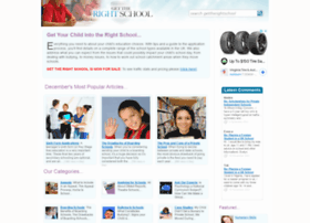 gettherightschool.co.uk