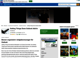getting-things-done-outlook-add-in.softonic.de