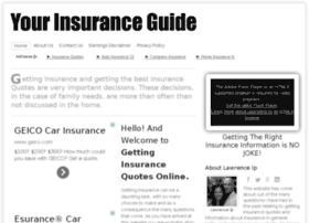 gettinginsurancequotesonline.com
