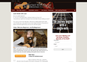 gettingstartedwithguitar.com