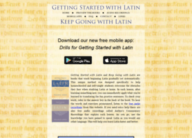 gettingstartedwithlatin.com