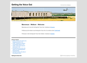 gettingthevoiceout.org