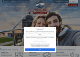 gettysburgbattlefieldtours.com
