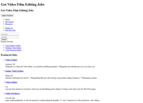 getvideofilmeditingjobs.com