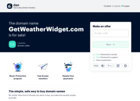 getweatherwidget.com