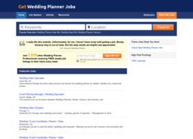 Getweddingplannerjobs.com