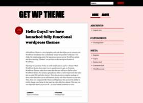 getwptheme.wordpress.com