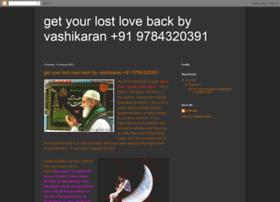 getyourlostlovebackbyvashikaran.blogspot.in