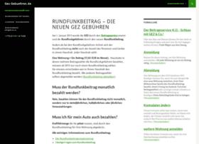 gez-gebuehren.de