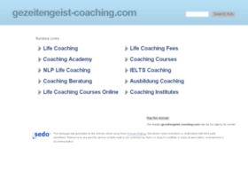 gezeitengeist-coaching.com