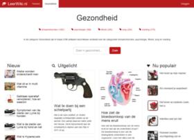 gezondheid.leerwiki.nl