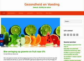 gezondheidenvoeding.nl