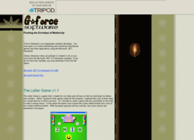 gforcesoftware.tripod.com
