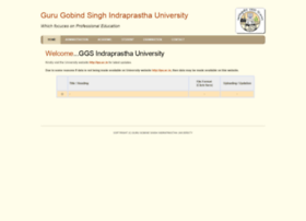ggsipu.bizhat.com