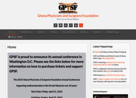 ghanaphysicians.org