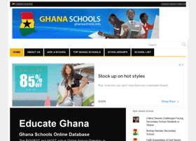 ghanaschools.info