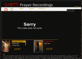 ghettoprayer.co.uk