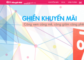 ghienkhuyenmai.com