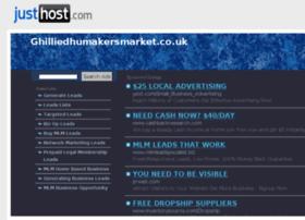 ghilliedhumakersmarket.co.uk