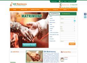 ghmatrimony.com