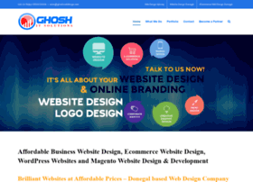 ghoshwebdesign.com