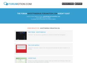 ghostfinderuk.forumotion.com