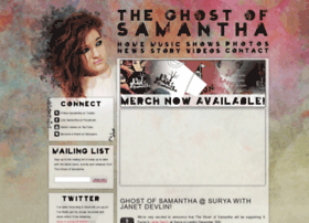 ghostofsamantha.com