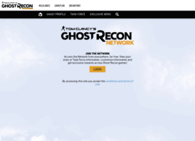 ghostreconnetwork.ubi.com