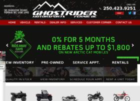 ghostridermotorsports.com