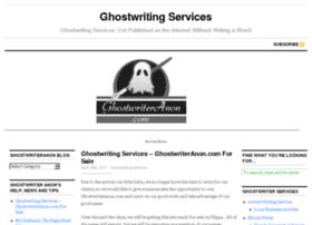 ghostwriteranon.com