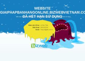 giaiphapbanhangonline.bizwebvietnam.com