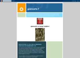giancarlo-giancarlof.blogspot.com