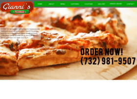 giannispizzarama.com