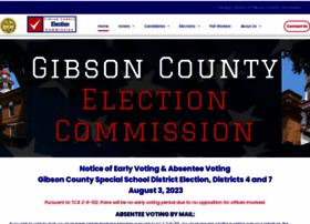 gibsonelections.com