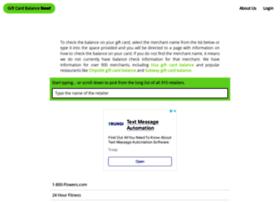 giftcardbalancenow.com
