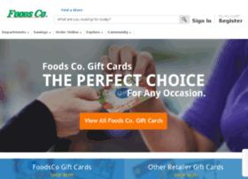 giftcards.foodsco.net