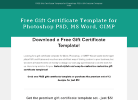giftcertificatetemplatesfree.com