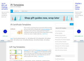 gifttemplates.org