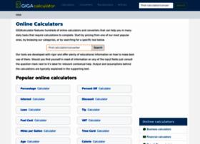 gigacalculator.com