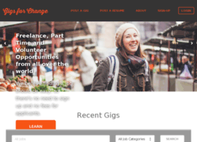 gigsforchange.org